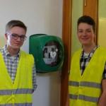 An der Waldorfschule Detmold gibt es nun einen Defibrillator