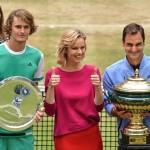 Rekord-Champion Roger Federer gewinnt zum neunten Mal in HalleWestfalen