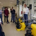 Studenten der FH und Uni Bielefeld besuchten Miele und Jung Pumpen