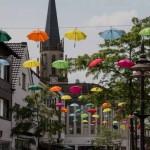 Schirmhimmel über der Mittleren Berliner Straße