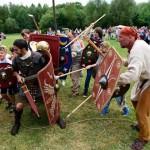 Mit Römern und Germanen auf Tuchfühlung