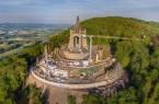 Baustelle am Kaiser-Wilhelm-Denkmal.Foto: Kögel Bau GmbH & Co. KG