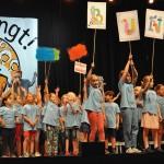 Schüler*innen eroberten mit ihren Liedern die Bühne