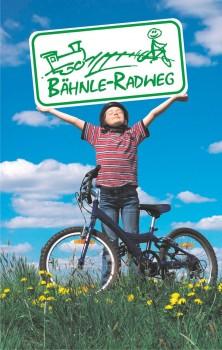 Bähnle-Radweg Kind mit Schild © Hochschwarzwald Tourismus GmbH (1)