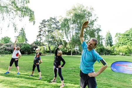 'Bielefeld kommt raus' plant sportliche Flashmobs im Stadtgrün © Holger Pante