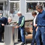 Zweiter Trinkwasserbrunnen in der Fußgängerzone eingeweiht