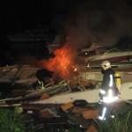 Motoryacht am Hahler Hafen explodiert – 3 Schwerverletzte