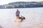 Hund und Halterin an der GlörtalsperreCopyright: © Paul Meixner