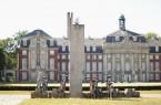 Die Fahrradständermonumente des Künstlers Richard Artschwager in Münster gehören zu den 620 hochkarätigen Kunstwerken, die auf der Internetseite www.nrw-skulptur.de aufgelistet sind. Foto: Carsten Gliese