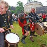 Woodstock trifft Mittelalter an der Bielefelder Sparrenburg