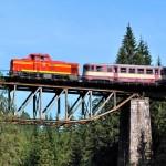 Historische Dampfloks sind in Tschechien unterwegs