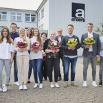 Ahlers heißt neue Auszubildende herzlich willkommen