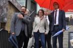 Die Ministerin besucht in den Sommerferien sechs Regionen Nordrhein-Westfalens an sechs Tagen.Foto:Stadt Minden