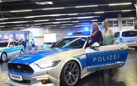 Zum Thema Sicherheit berät die Polizei auf der Messe. Westfalenhallen Dortmund GmbH/Foto: Anja Cord