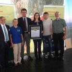 Bad Driburger Kaleidoskopweg als Qualitätsweg zertifiziert