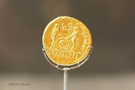 Roemische-Goldmuenze_Kalkriese