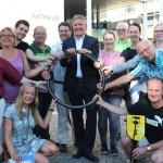Spaß am Radeln, gut fürs Klima