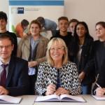 Kooperation IHK – Schule – Wirtschaft zwischen Gertrud-Bäumer