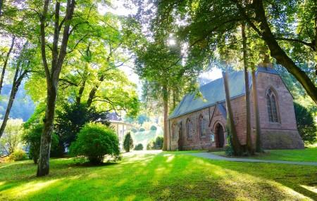 Seit dem 18.Jh. sind Parkanlagen wichtiger Bestandteil des Bade-und Kurlebens. Foto: Ottenberg