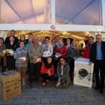 Glückliche Gewinner beim Bürener Oktobermarkt