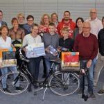 Stadtradeln 2017: Neun Gewinner freuen sich über Preise