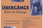 Universität Paderborn_Rites de Passage