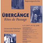 """25. Tagung """"Fragen der Regionalgeschichte"""" zum Thema """"Rites de Passage"""""""