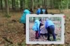 JuMP-Team aus Haus Neuland und Wald und Holz NRW führen Projekt  durch