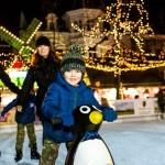 Weihnachtszauber in Bad Oeynhausen mit Open-Air-Eislaufbahn