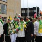 Die Glocken sind poliert: KKC läutet am Gütersloher Rathaus die Karnevalssession ein