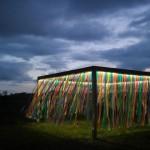 Lichtinstallationen auf Langeoog