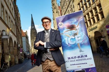 Der Düsseldorfer Thomas Rath ist ein echter Münster-Fan und freut sich schon darauf, wenn die HOLIDAY ON ICE Show TIME zwischen Weihnachten und Neujahr im MCC Halle Münsterland gastiert.