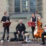"""Das Ensemble Vinorosso geht beim Benefizkonzert des Ambulanten Hospizdienstes Paderborn """"auf Reisen"""""""