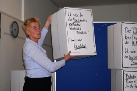 Barbara Messer überzeugte mit ihrem Impulsvortrag über gelingende Teamarbeit.