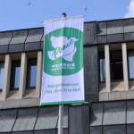 Minden hisst Flagge und unterstützt Unterschriftenaktion