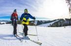 Skifahrer Skiliftkarussell Winterberg Foto: © Wintersport-Arena Sauerland