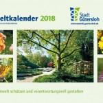 Umweltkalender mit Themen und Tipps zum Umweltschutz