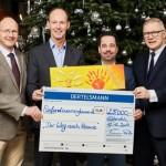 Bertelsmann-Weihnachtsspende: 25.000 Euro für schwerstkranke Kinder