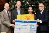 Bertelsmann unterstützt auch in diesem Jahr wieder schwerstkranke Kinder in der Region.