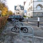 Zusätzliche Fahrradständer in der Mindener Innenstadt