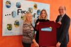 Detmolder Studentin wirbt als EuroPeer für die europäische Idee. Foto:Stadt Detmold
