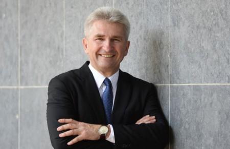 NRW-Minister Professor Dr. Andreas Pinkwart ist Festredner beim Neujahrsempfang des Kreises Paderborn. © MWIDE NRW/R. Pfeil