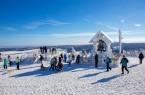 Gipfel des Fichtelberges (Foto:Tourismusverband Erzgebirge e.V./Bernd März)