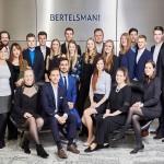 Bertelsmann-Auszubildende feiern Abschluss