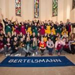 Bertelsmann-Auszubildende unterstützen Gütersloher Vesperkirche