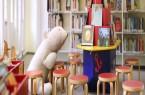 Ein Foto vom Bilderbuchbereich in der Mindener Stadtbibliothek. Foto: © Alex Lehn