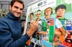 """Weltstar Roger Federer ist wieder die Nummer eins der Tennis-Welt und will auch bei den 26. GERRY WEBER OPEN seine beeindruckende Rekordjagd fortsetzen. """"Die Begeisterung hier ist immer sehr groß. Was den Zuschauern neben dem Tennis geboten wird, das ist beispiellos. Insgesamt hat das Turnier eine sehr persönliche Note, die die Handschrift der Familie Weber trägt"""", sagte der Schweizer bei einem Mediengespräch in Rotterdam. © GERRY WEBER OPEN (HalleWestfalen)"""