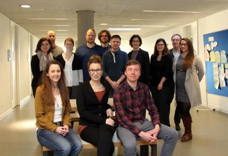 Das Projektteam von HumanTec mit Dekan Prof. Dr. Rössler (2. v.r.).