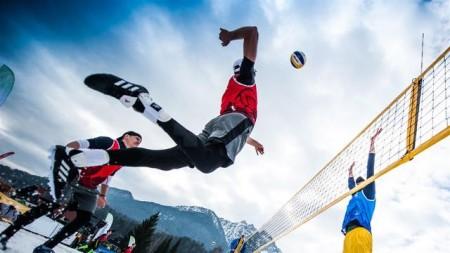 Winterberg ist Gastgeber für die erste Deutsche Meisterschaft im Snow-Volleyball Foto: © CEV
