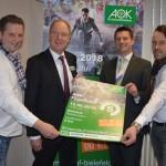 AOK-Firmenlauf Bielefeld geht in die 5. Runde